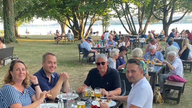 Sommerfest begeistert <br>Alt und Jung