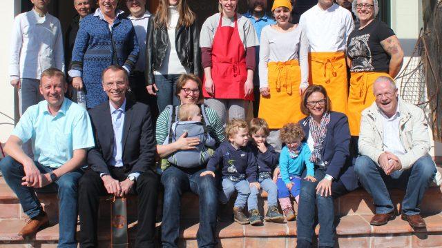 """CDU zu Besuch<br> bei der SKID """"Nudel Emma"""""""