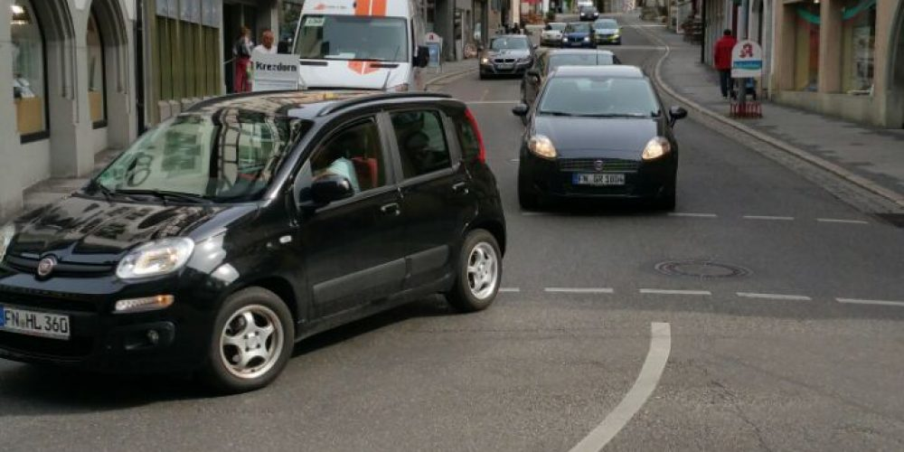 Konkrete Schritte<br>zur Verkehrsberuhigung!